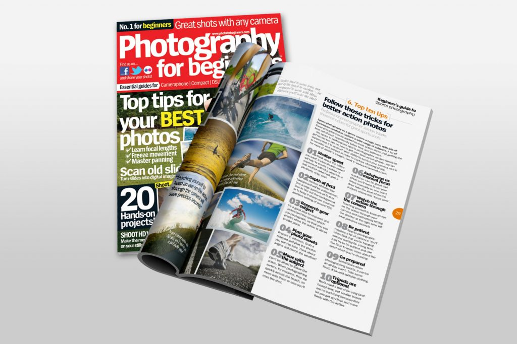 Photography for Beginners Magazine - Jordan Weeks Design & Photography