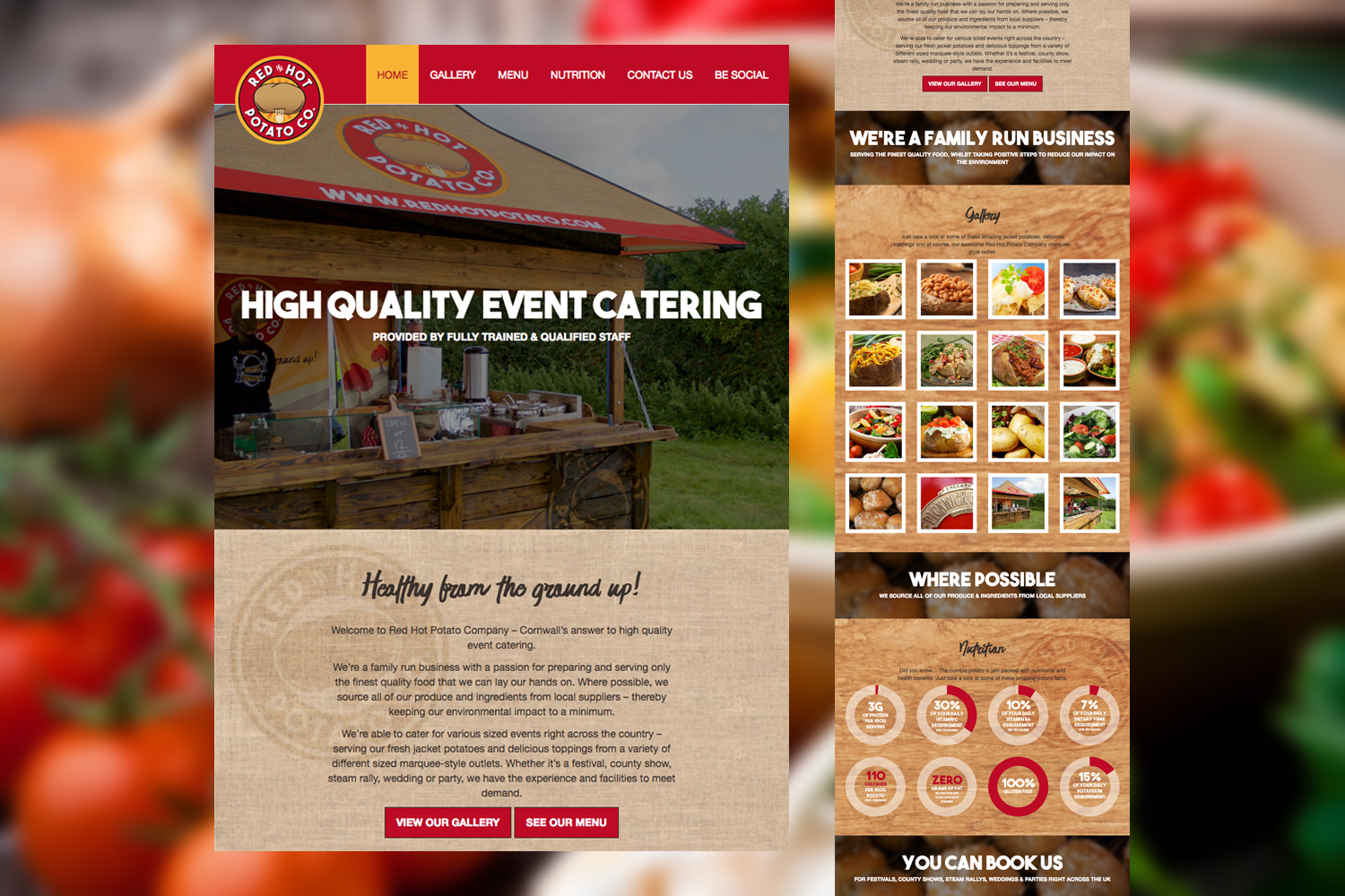 Project Focus - Red Hot Potato Company | Jordan Weeks Creative Services
